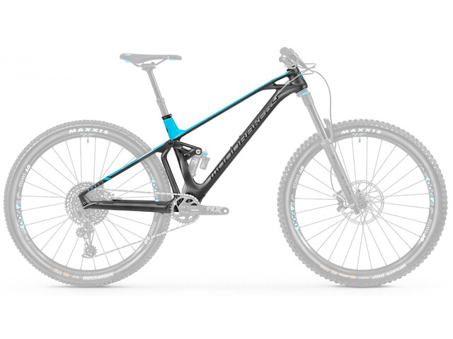 Mondraker Foxy Carbon R 29 Stel, black phantom/light blue